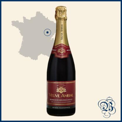 Veuve Ambal Bourgogne Mousseux Rouge