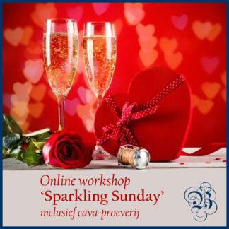Online workshop met proeverij Sparkling Sunday